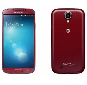 GALAXY S4 Red