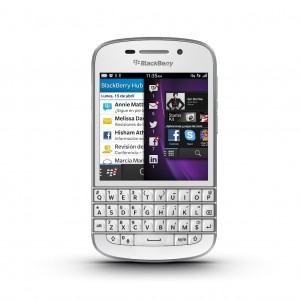 BlackBerry Q10 España
