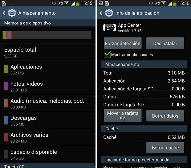 Como mover las aplicaciones a la tarjeta SD en el Samsung Galaxy S4