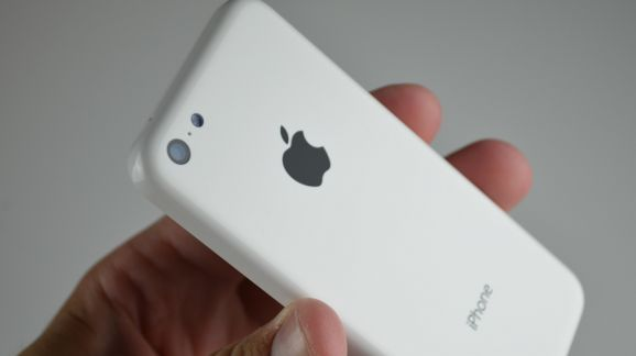 iPhone 5 C trasera blanca