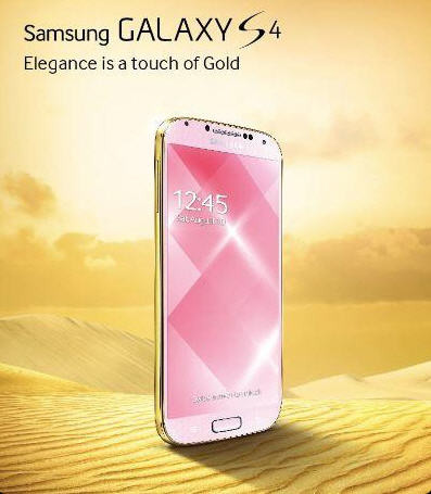 Galaxy S4 oro
