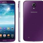 Samsung Galaxy Mega 6.3 en color purpura
