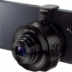 sony_qx10 en smartphone