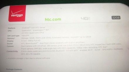 Verizon-HTC-One-Ebay