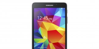 Galaxy Tab4 7.0 (SM-T230) Black Frontal