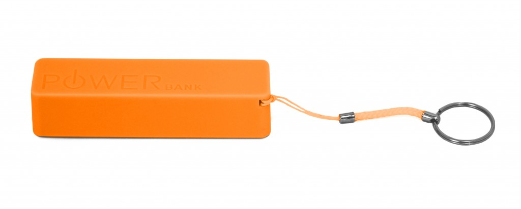 PowerBank2600-orange-lateral1