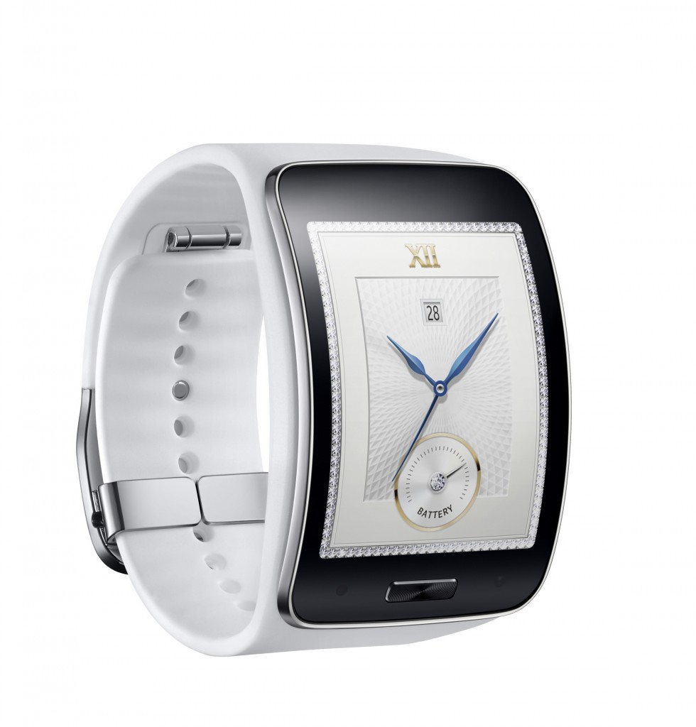 Samsung Gear S_Pure White_3