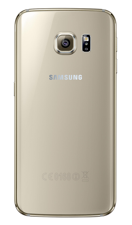 Galaxy S6 Edge_Back_Gold Platinum