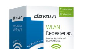 Devolo LAN repeater AC